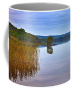 Reeds And An Islet In Lough Macnean Coffee Mug
