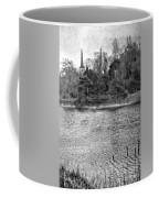 Reeds And Religion Black And White Coffee Mug