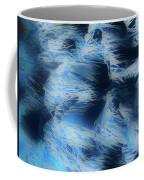 Reeds In Blue Coffee Mug