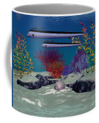 Reef Coffee Mug by Corey Ford