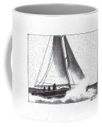 Reefing The Main Coffee Mug