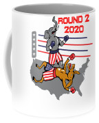 Reelect Trump For President Keep America Great Light Coffee Mug