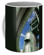 Refinery Detail Coffee Mug by Carlos Caetano