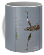 Reflecting Heron Coffee Mug