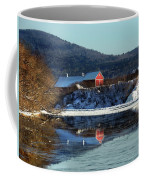 Reflecting On Farms By Connecticut Coffee Mug