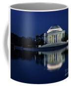 Reflection At Blue Hour Coffee Mug