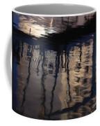 reflection in Eilat marina Coffee Mug