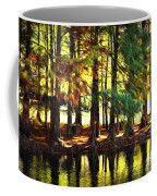 Reflection In Paint Coffee Mug