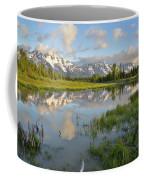 Reflection In Snake River At Grand Teton Coffee Mug