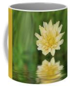 Reflection In Yellow Coffee Mug