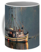 Reflections Of A Nautical Timepiece Coffee Mug