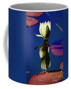 Reflection Of A Water Lily Coffee Mug