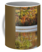 Reflection Of Autumn Colors In A Lake Coffee Mug