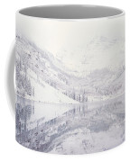 Reflection Of Snowcapped Mountains Coffee Mug