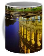 Reflection Of The Colosseum Coffee Mug