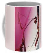 Reflection On A Red Automobile Coffee Mug