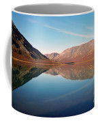 Mountains Reflected On A Beautiful Lake Coffee Mug