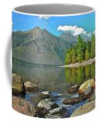 Reflections Glacier National Park  Coffee Mug by Michael Peychich
