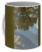 Reflections In A Lake - Poster Edges Coffee Mug
