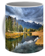 Reflections In Canmore Coffee Mug