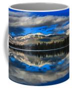 Reflections In Lake Beauvert Coffee Mug