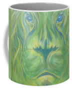 Reflections In The Lions Eyes Coffee Mug