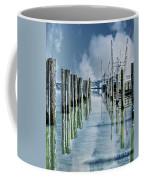 Reflections In The Marina Coffee Mug