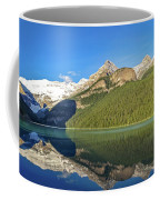 Reflections In The Water At Lake Louise, Canada Coffee Mug