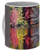 Reflections Of A Bare Grey Tree Coffee Mug