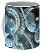 Reflections Of A Fractal Fossil Coffee Mug