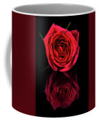 Reflections Of A Red Rose Coffee Mug