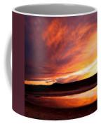 Reflections Of Red Sky Coffee Mug