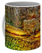 Reflections Of Rock Coffee Mug