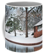 Reflections Of Winter Coffee Mug by Betty LaRue