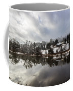 Reflections Of Winter Flood Coffee Mug