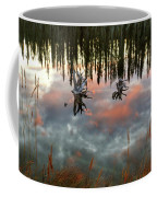 Reflections Off Pond In British Columbia Coffee Mug