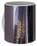 Reflections Off The Buildings Coffee Mug