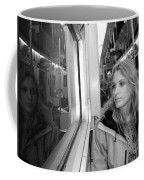 Reflections On A London Train Coffee Mug