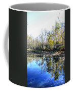 Reflections On Blue Coffee Mug