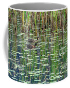 Reflections On Duck Pond Coffee Mug