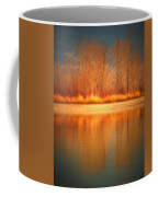 Reflections On Fire Coffee Mug