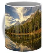 Reflections On Jenny Lake Coffee Mug