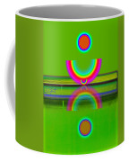 Reflections On Lime Coffee Mug