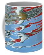 Reflections - Red White Blue Coffee Mug
