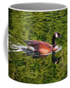 Reflections - Swimming Goose 003 Coffee Mug