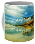 Reflective Beach Coffee Mug