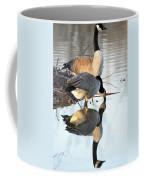 Reflective Geese Coffee Mug
