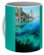 Reflective Liquid Dreams Coffee Mug