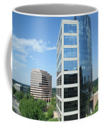 Reflective Mirror Architecture Coffee Mug
