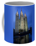 Reflective Temple Coffee Mug